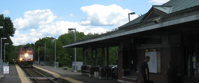 Franklin/Boston Train stop